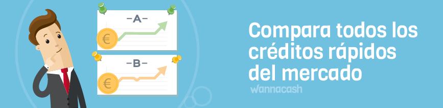 Comprarar creditos rapidos del mercado con Wannacash