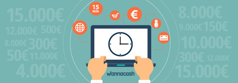 Creditos online rapidos con Wannacash